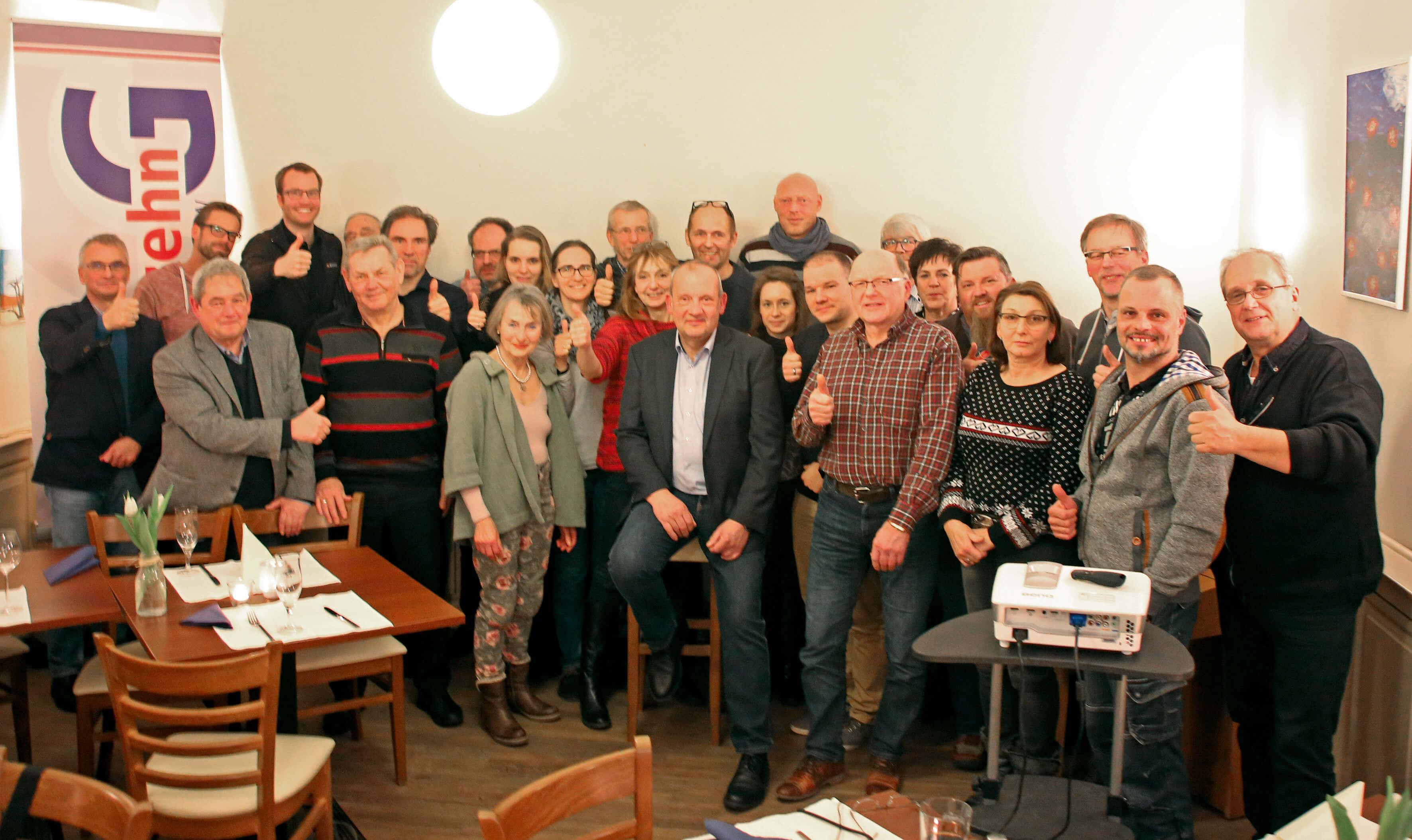 10G Vortrag :: Holger Stolz - Gruppenfoto
