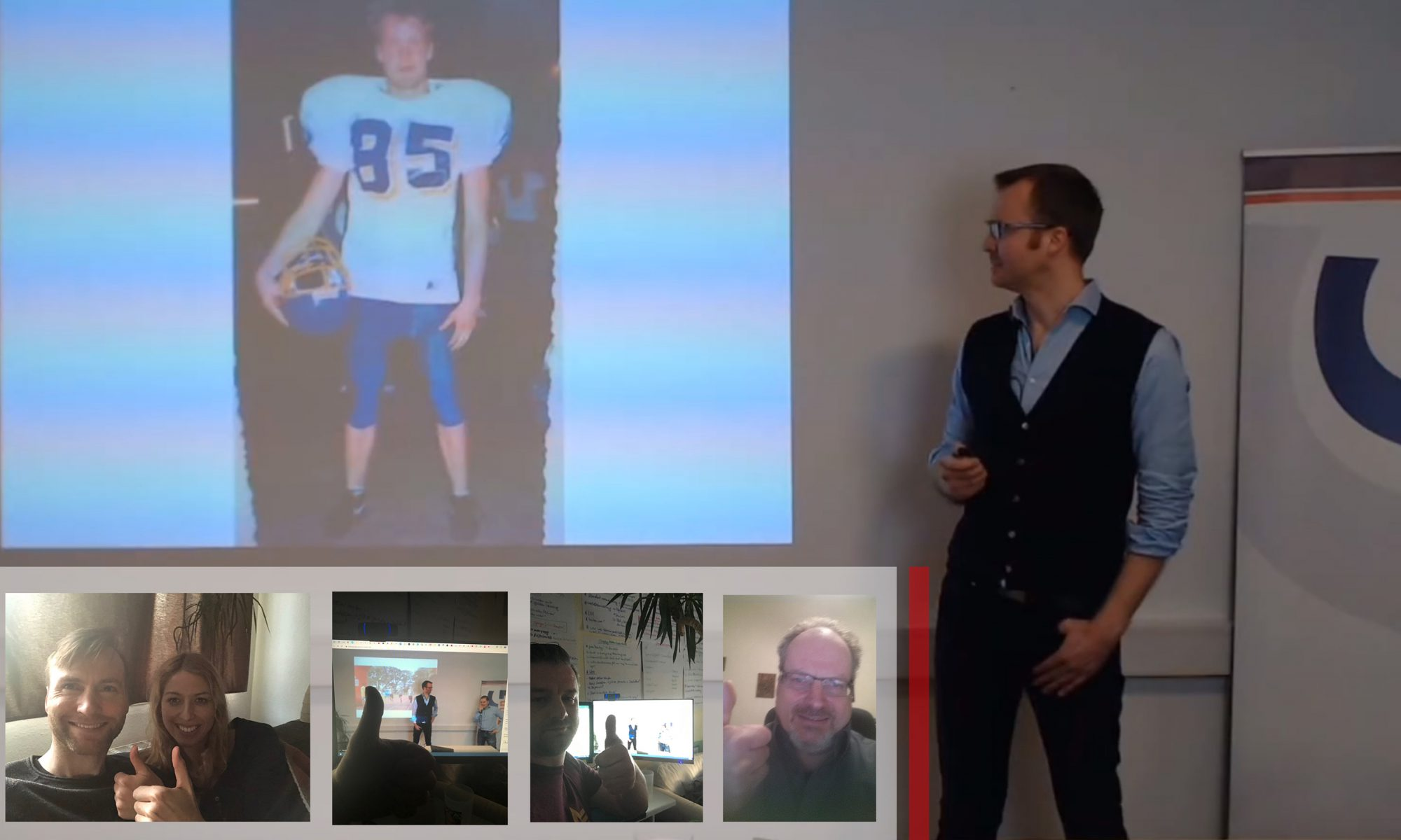10G Vortrag - Matthias S. Clauser - Gruppenfoto