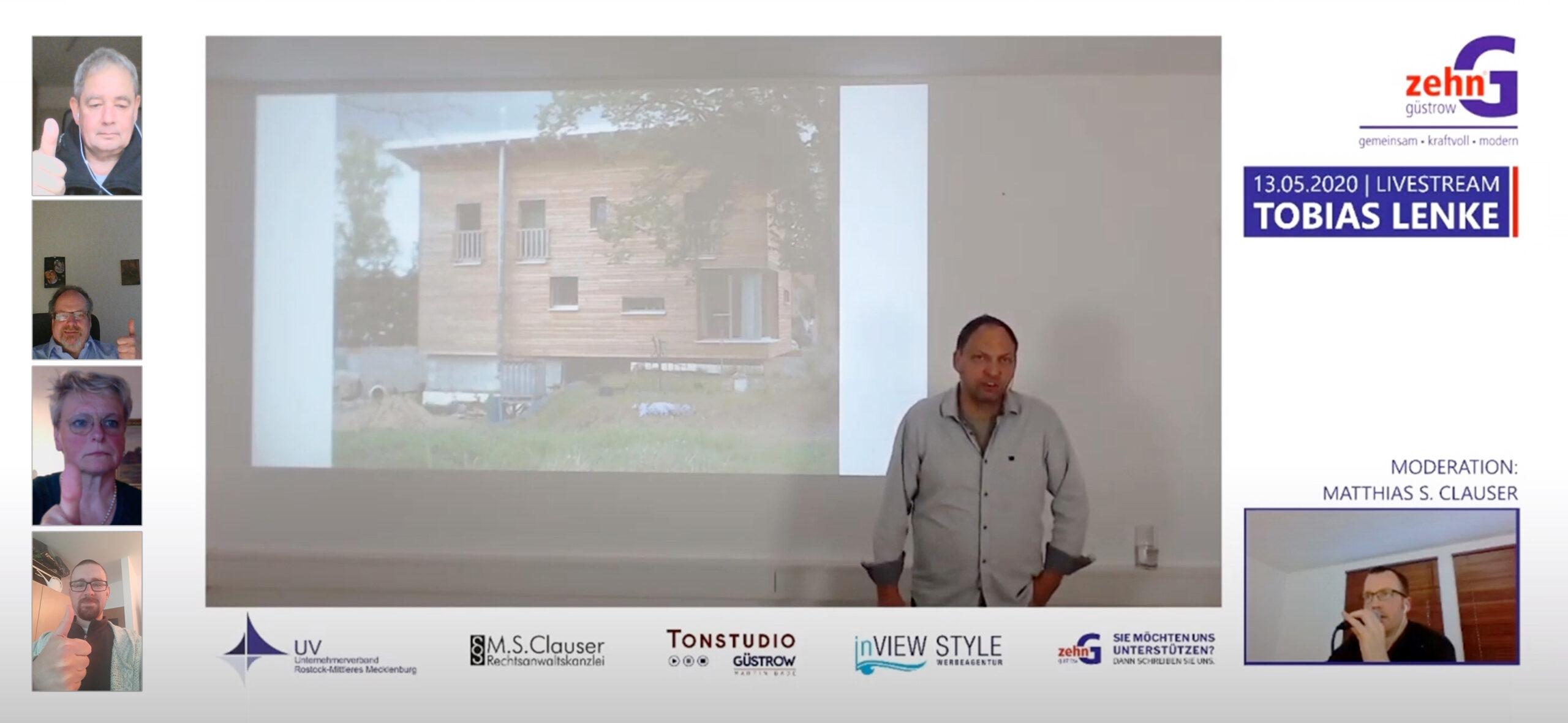 10G Vortrag - Tobias Lenke - Gruppenfoto